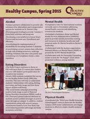 Healthy Campus Spring 2015 Update